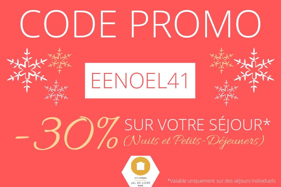 Code Promo Séjour Noel Blois Ethic Etapes Val de Loire
