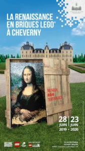 Exposition Lego Chateau de Cheverny